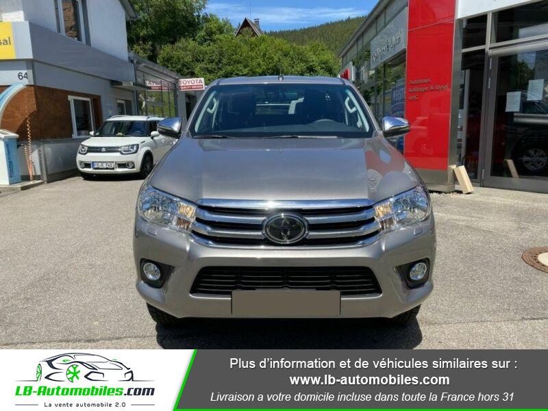 Toyota Hilux X-TRA CAB 4WD 2.4L 150 D-4D Gris occasion à Beaupuy - photo n°8