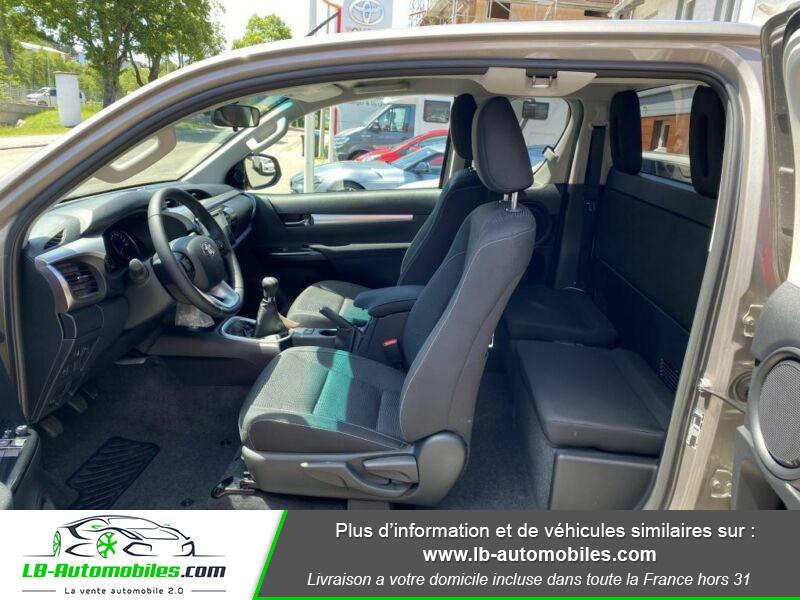 Toyota Hilux X-TRA CAB 4WD 2.4L 150 D-4D Gris occasion à Beaupuy - photo n°4