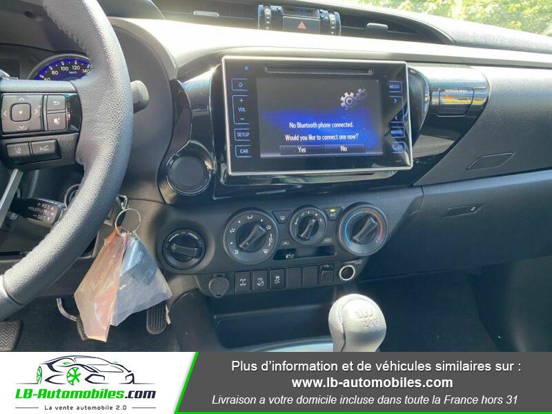 Toyota Hilux X-TRA CAB 4WD 2.4L 150 D-4D Gris occasion à Beaupuy - photo n°5