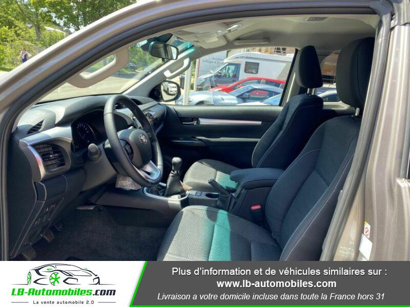 Toyota Hilux X-TRA CAB 4WD 2.4L 150 D-4D Gris occasion à Beaupuy - photo n°3