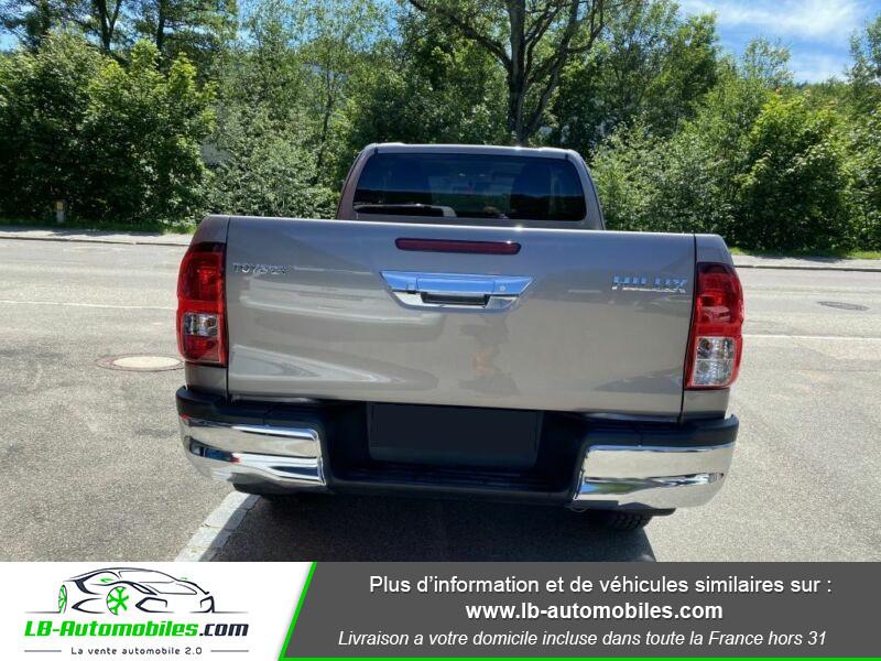 Toyota Hilux X-TRA CAB 4WD 2.4L 150 D-4D Gris occasion à Beaupuy - photo n°9