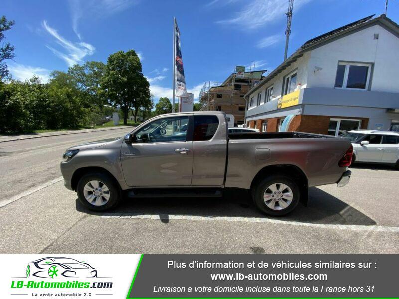 Toyota Hilux X-TRA CAB 4WD 2.4L 150 D-4D Gris occasion à Beaupuy - photo n°7