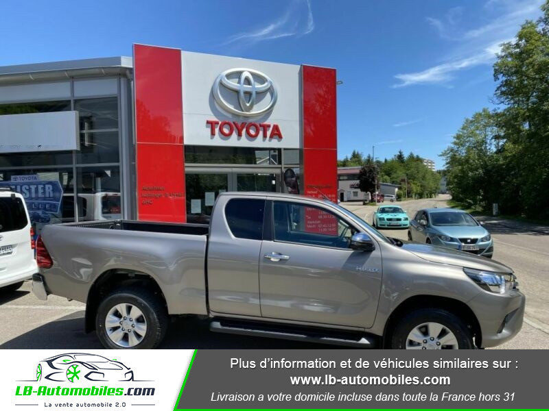 Toyota Hilux X-TRA CAB 4WD 2.4L 150 D-4D Gris occasion à Beaupuy - photo n°6