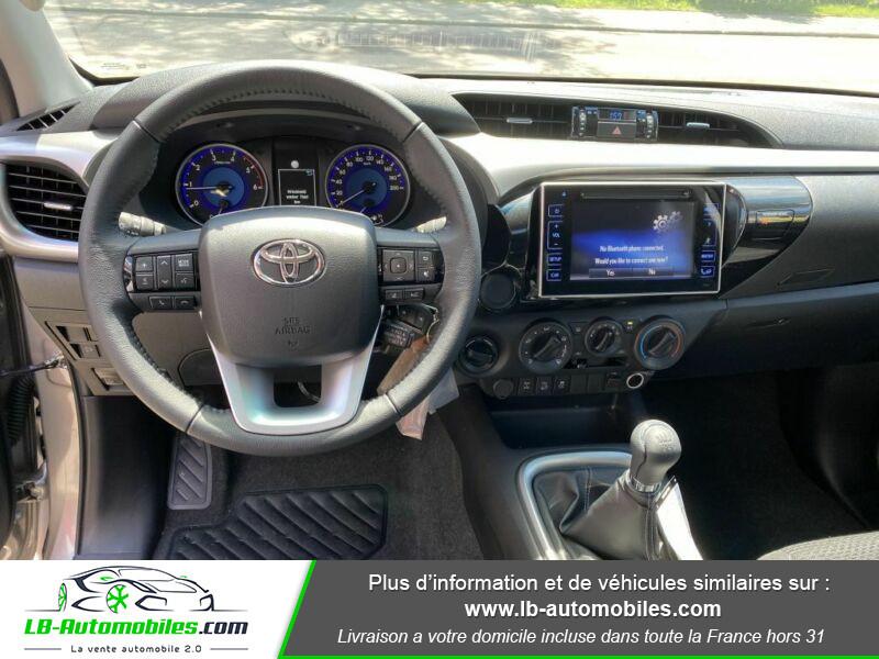 Toyota Hilux X-TRA CAB 4WD 2.4L 150 D-4D Gris occasion à Beaupuy - photo n°2