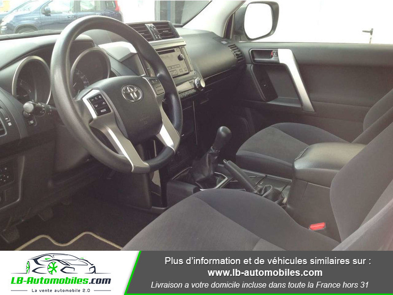 Toyota Land Cruiser 2.8 D-4D Blanc occasion à Beaupuy - photo n°4