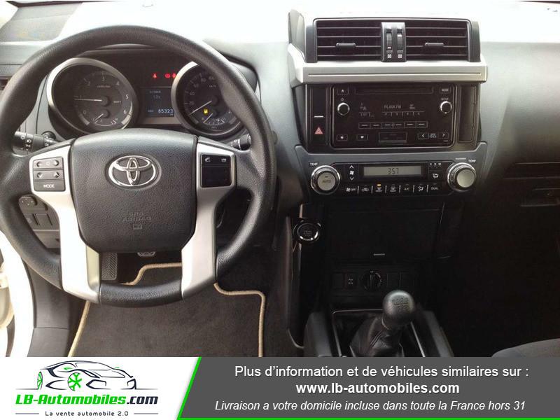 Toyota Land Cruiser 2.8 D-4D Blanc occasion à Beaupuy - photo n°2