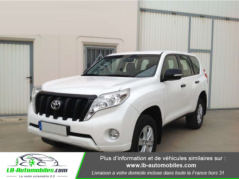 Toyota Land Cruiser 2.8 D-4D Blanc occasion à Beaupuy