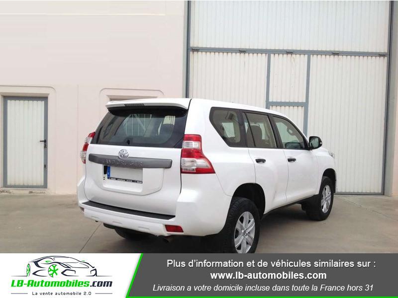 Toyota Land Cruiser 2.8 D-4D Blanc occasion à Beaupuy - photo n°3