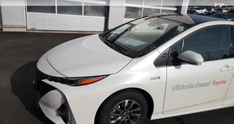 Toyota Prius 122h Solar MC19 Blanc occasion à Hoenheim