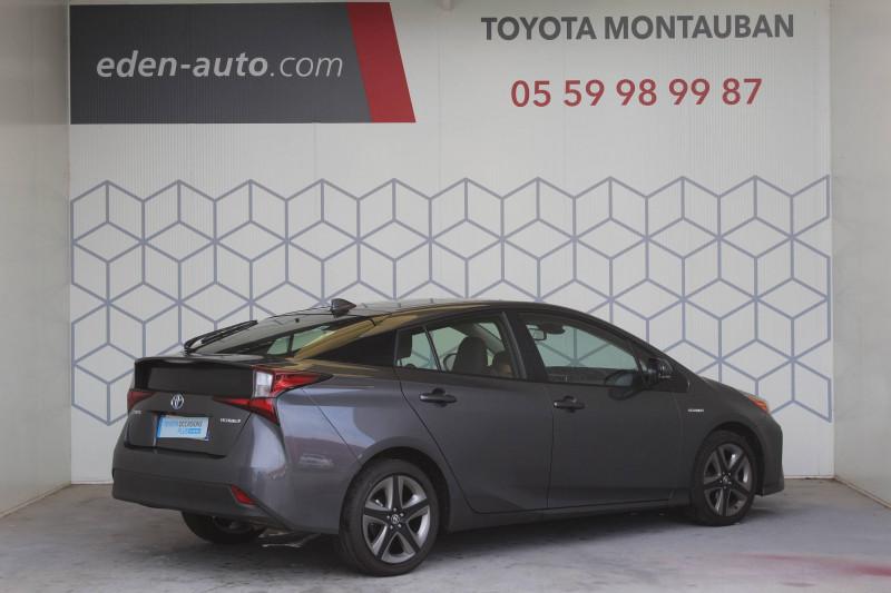Toyota Prius Prius Hybride Dynamic Pack Premium 5p Gris occasion à Montauban - photo n°2