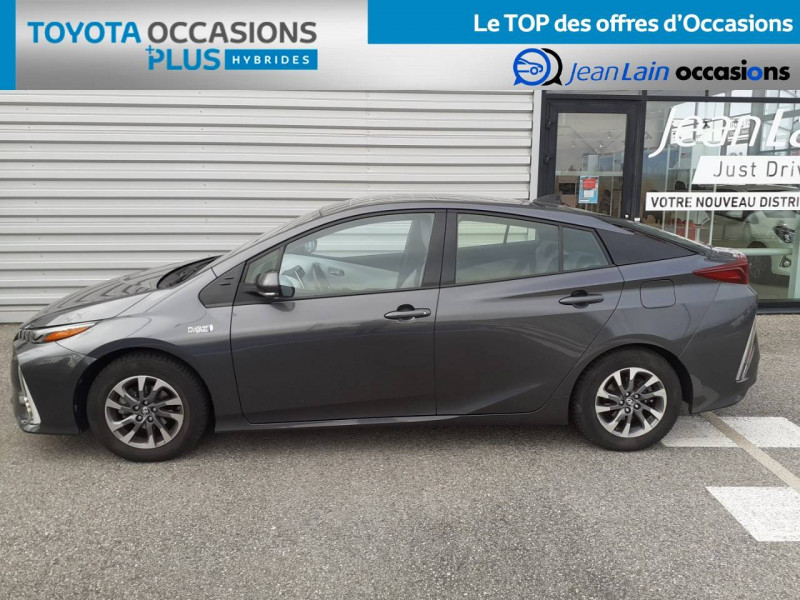 Toyota Prius Prius Hybride Rechargeable Solar 5p Gris occasion à Valence - photo n°8