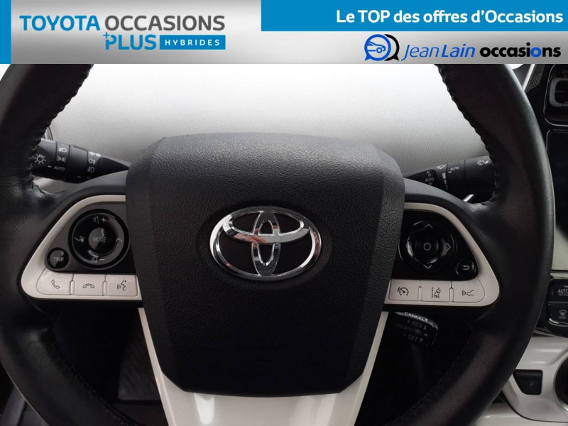 Toyota Prius Prius Hybride Rechargeable Solar 5p Gris occasion à Valence - photo n°12