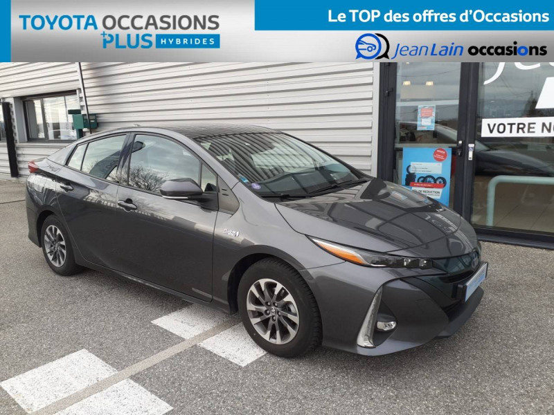 Toyota Prius Prius Hybride Rechargeable Solar 5p Gris occasion à Valence - photo n°3