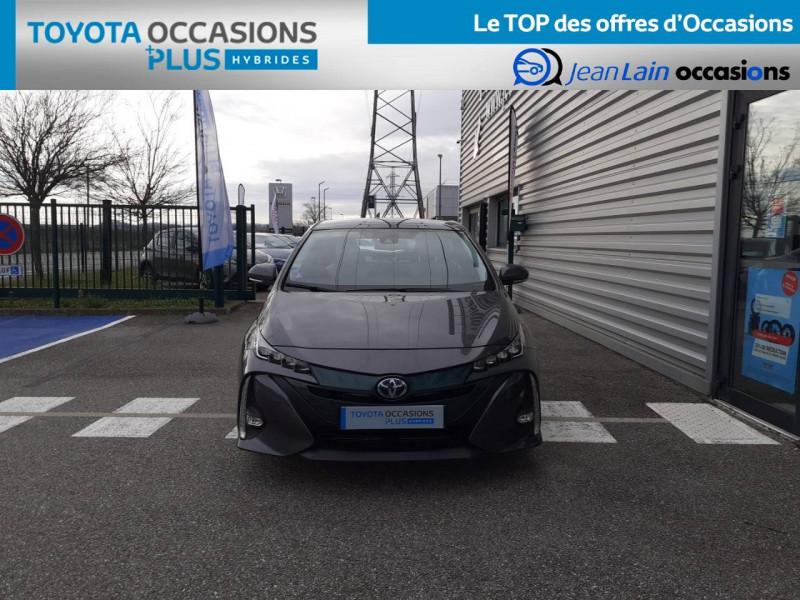 Toyota Prius Prius Hybride Rechargeable Solar 5p Gris occasion à Valence - photo n°2