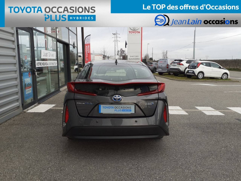 Toyota Prius Prius Hybride Rechargeable Solar 5p Gris occasion à Valence - photo n°6