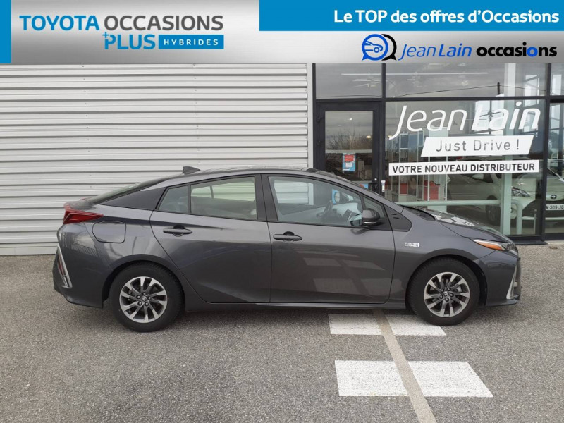 Toyota Prius Prius Hybride Rechargeable Solar 5p Gris occasion à Valence - photo n°4