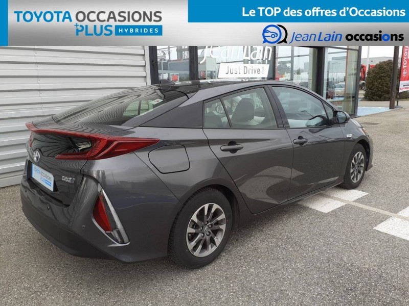 Toyota Prius Prius Hybride Rechargeable Solar 5p Gris occasion à Valence - photo n°5