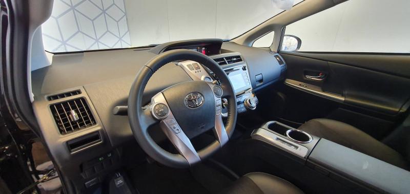 Toyota Prius Prius+ Pro 136h Dynamic Business 5p Noir occasion à Montauban - photo n°5