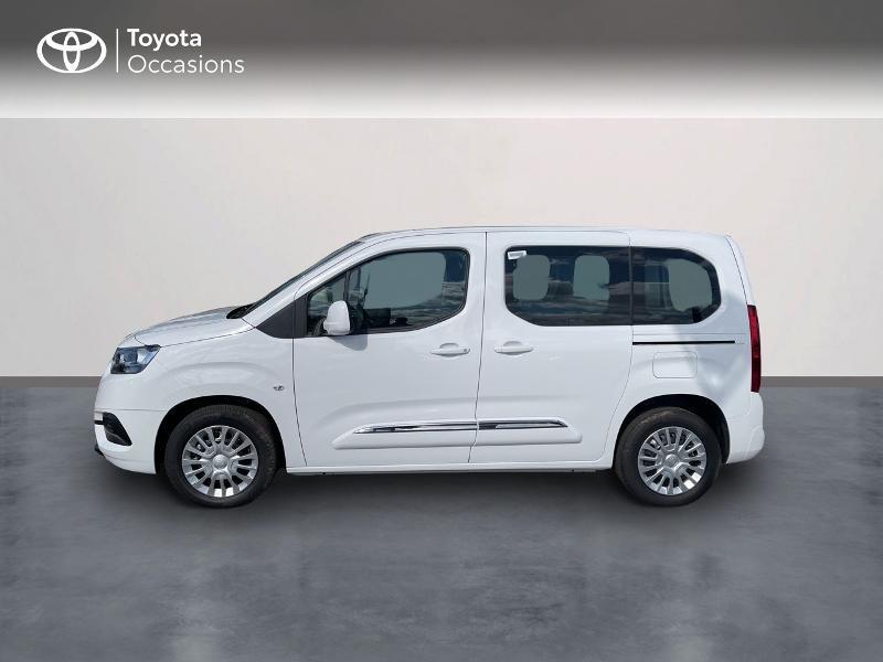 Toyota Proace Medium 1.2 110 VVT-i Dynamic RC21 Blanc occasion à VANNES - photo n°3