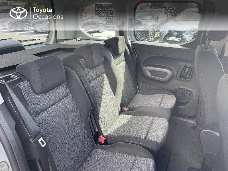 Toyota Proace Medium 1.2 110 VVT-i Dynamic RC21 Blanc occasion à VANNES - photo n°7