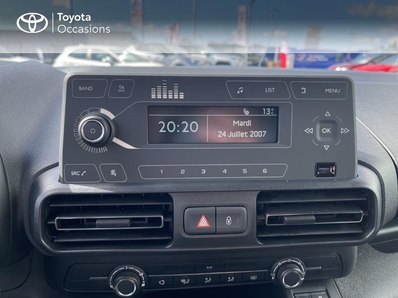 Toyota Proace Medium 1.2 110 VVT-i Dynamic RC21 Blanc occasion à VANNES - photo n°15