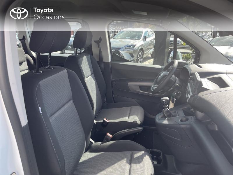 Toyota Proace Medium 1.2 110 VVT-i Dynamic RC21 Blanc occasion à VANNES - photo n°6