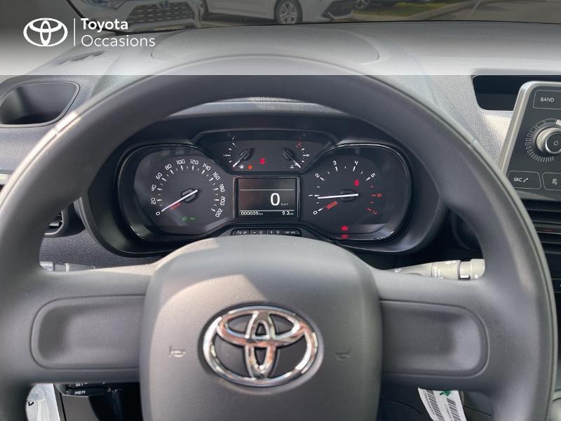 Toyota Proace Medium 1.2 110 VVT-i Dynamic RC21 Blanc occasion à VANNES - photo n°13
