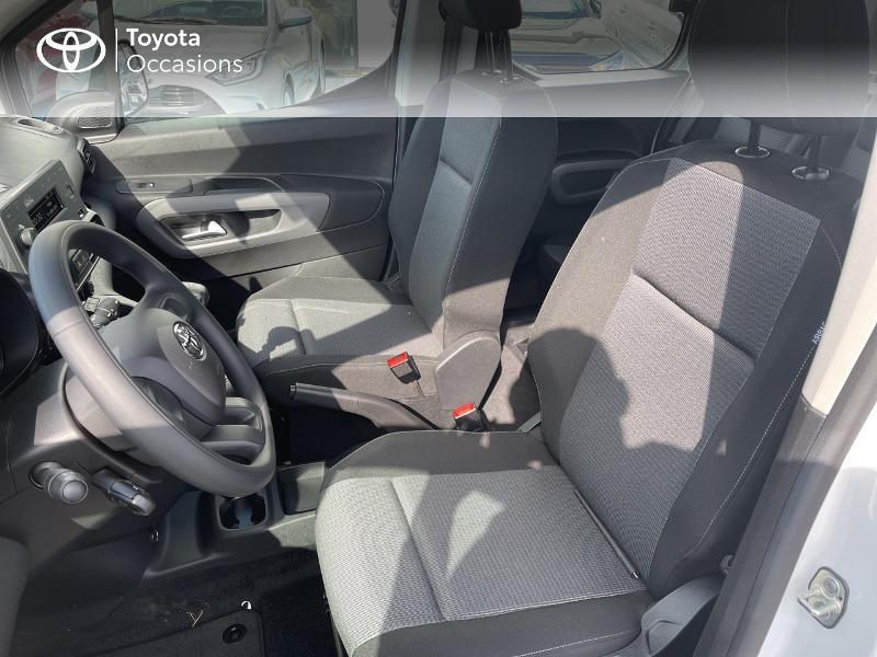 Toyota Proace Medium 1.2 110 VVT-i Dynamic RC21 Blanc occasion à VANNES - photo n°11