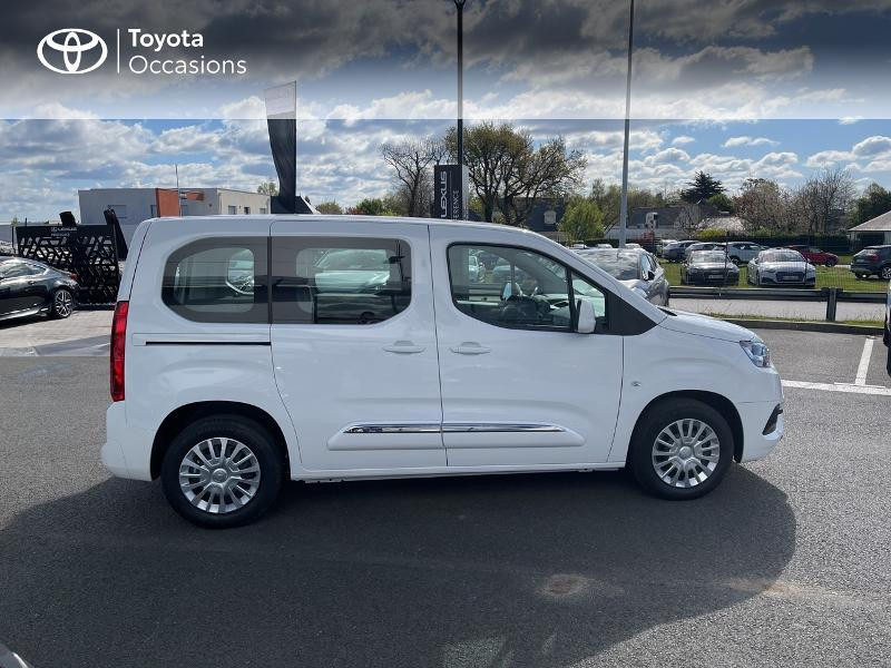 Toyota Proace Medium 1.2 110 VVT-i Dynamic RC21 Blanc occasion à VANNES - photo n°17