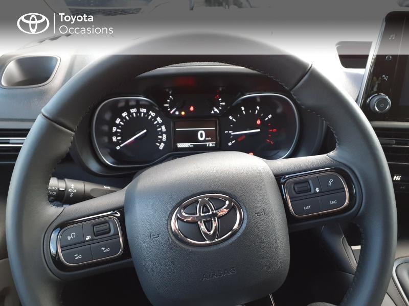 Toyota Proace Medium 1.5 100 D-4D Design RC21 Gris occasion à LANESTER - photo n°13