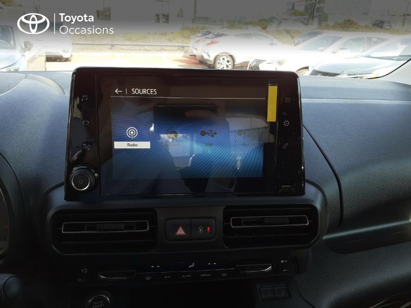 Toyota Proace Medium 1.5 100 D-4D Design RC21 Gris occasion à LANESTER - photo n°15