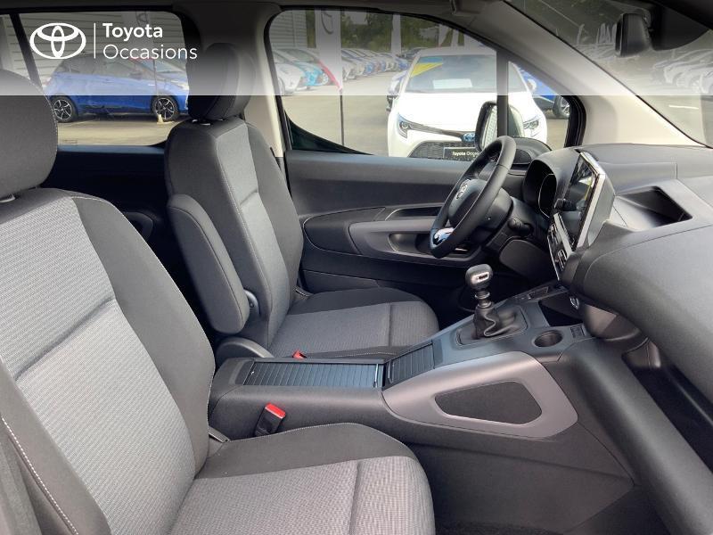 Toyota Proace Medium 1.5 100 D-4D Executive RC21 Gris occasion à Pluneret - photo n°6