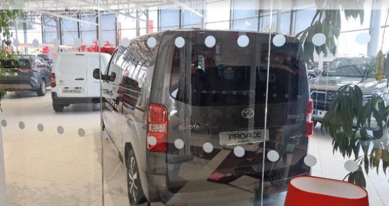 Toyota Proace Medium Electric 75kWh Executive Gris occasion à Hoenheim - photo n°2