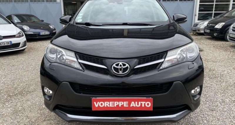 Toyota RAV 4 150 D-4D LOUNGE AWD Noir occasion à VOREPPE - photo n°2