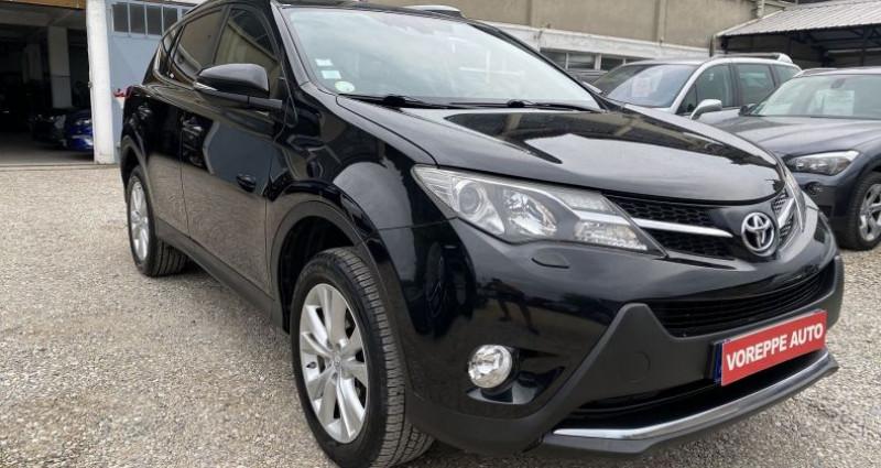 Toyota RAV 4 150 D-4D LOUNGE AWD Noir occasion à VOREPPE - photo n°3