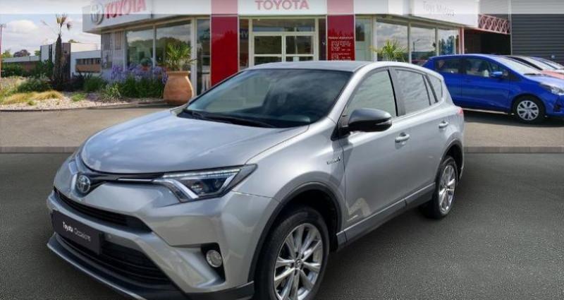 Toyota RAV 4 197 Hybride Dynamic Edition 2WD CVT Gris occasion à Saintes