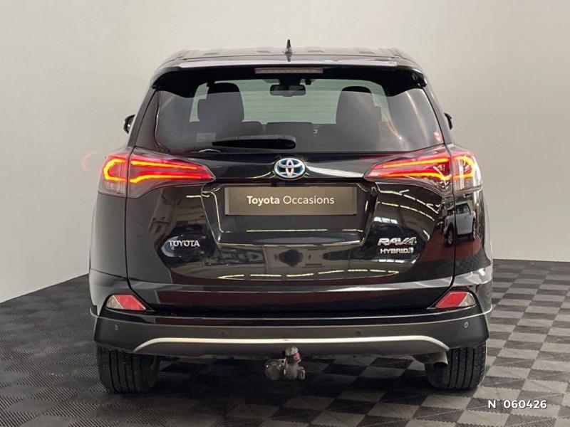 Toyota RAV 4 197 Hybride Dynamic Edition 2WD CVT Noir occasion à Rivery - photo n°3