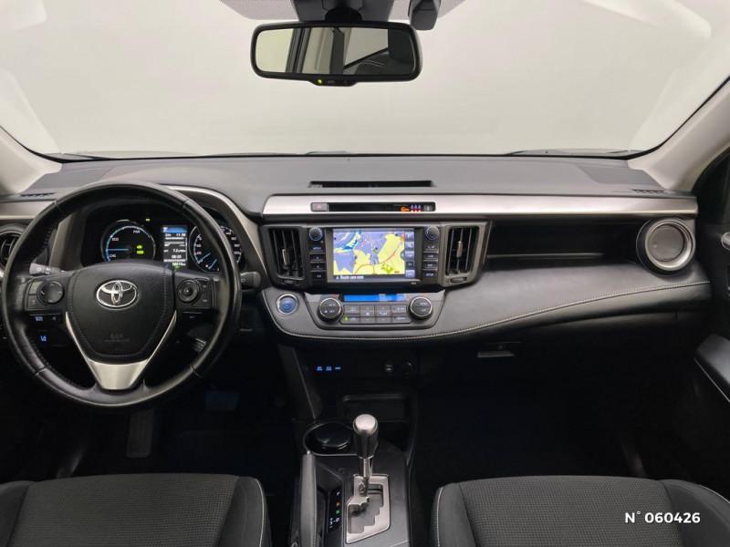 Toyota RAV 4 197 Hybride Dynamic Edition 2WD CVT Noir occasion à Rivery - photo n°10