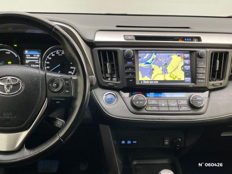 Toyota RAV 4 197 Hybride Dynamic Edition 2WD CVT Noir occasion à Rivery - photo n°11