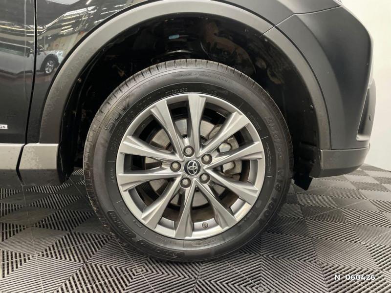 Toyota RAV 4 197 Hybride Dynamic Edition 2WD CVT Noir occasion à Rivery - photo n°9