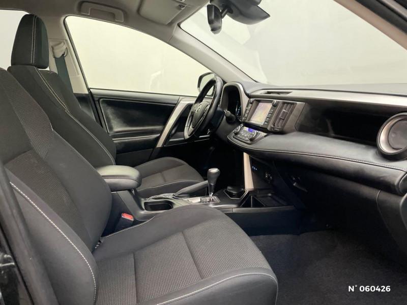 Toyota RAV 4 197 Hybride Dynamic Edition 2WD CVT Noir occasion à Rivery - photo n°4