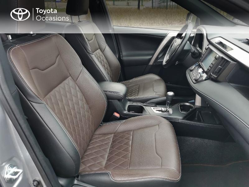 Toyota RAV 4 197 Hybride Exclusive 2WD CVT Gris occasion à Magny-les-Hameaux - photo n°6