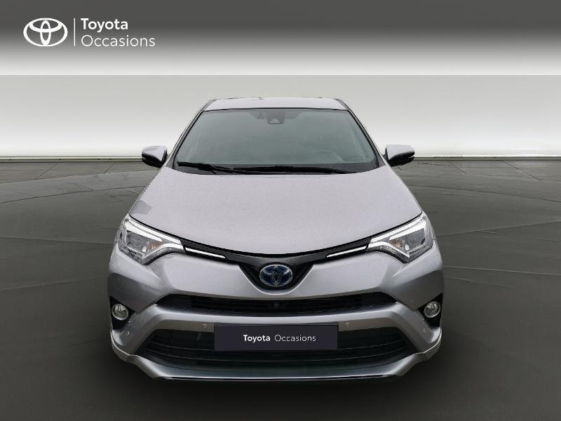 Toyota RAV 4 197 Hybride Exclusive 2WD CVT Gris occasion à Magny-les-Hameaux - photo n°5