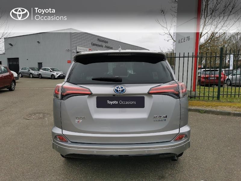 Toyota RAV 4 197 Hybride Exclusive 2WD CVT Gris occasion à Magny-les-Hameaux - photo n°4