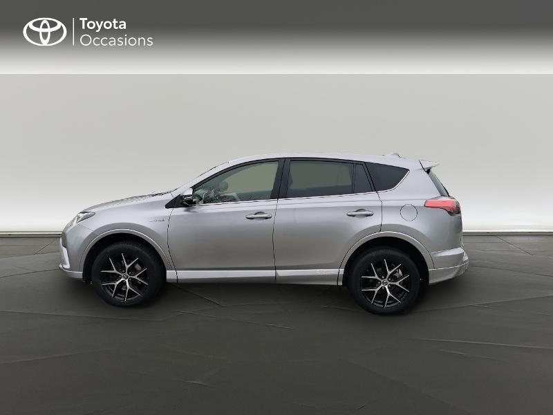 Toyota RAV 4 197 Hybride Exclusive 2WD CVT Gris occasion à Magny-les-Hameaux - photo n°3