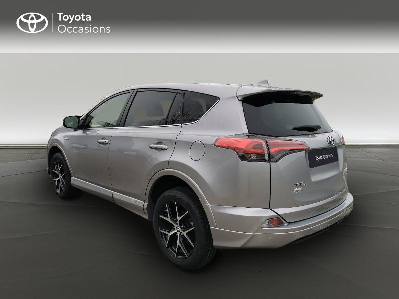 Toyota RAV 4 197 Hybride Exclusive 2WD CVT Gris occasion à Magny-les-Hameaux - photo n°2