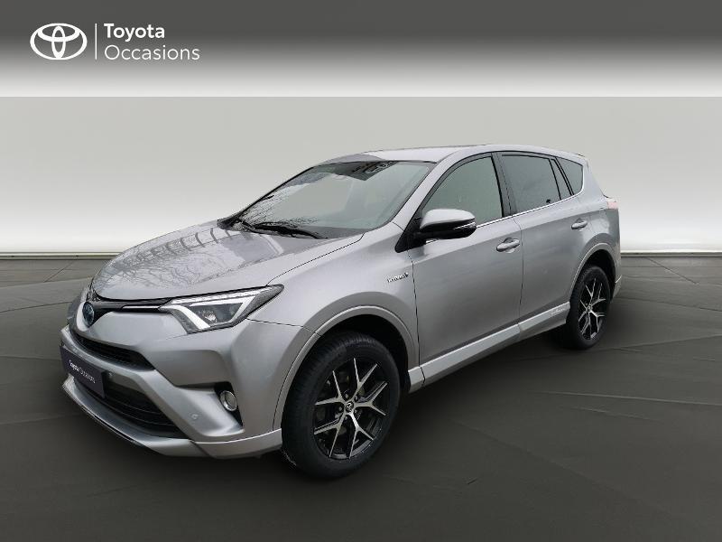 Toyota RAV 4 197 Hybride Exclusive 2WD CVT Gris occasion à Magny-les-Hameaux