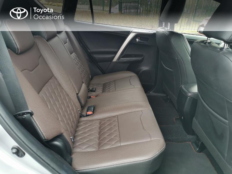 Toyota RAV 4 197 Hybride Exclusive 2WD CVT Gris occasion à Magny-les-Hameaux - photo n°7