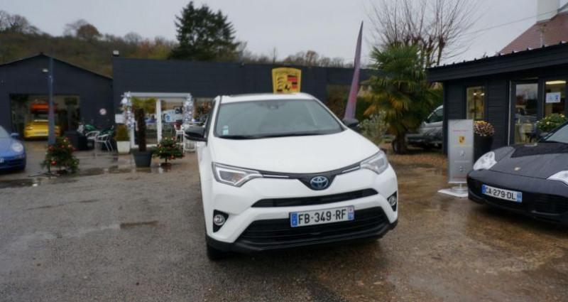 Toyota RAV 4 HYBRID BLACK EDITION Blanc occasion à Charpont