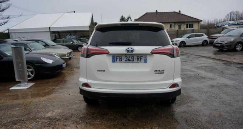 Toyota RAV 4 HYBRID BLACK EDITION Blanc occasion à Charpont - photo n°6